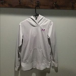 Purple and Grey Under Armour Sweatshirt